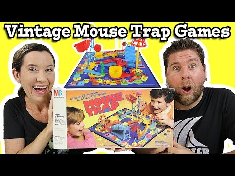 Vintage Mouse Trap Game