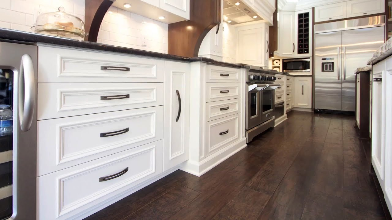 Selecting kitchen flooring with rebecca robeson youtube for Kitchen flooring
