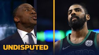 Shannon thinks Kyrie went too far with surgery threats if he wasn't traded from Cavs | UNDISPUTED