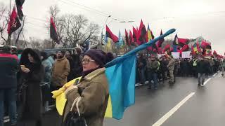 Марш в Украине в поддержку Саакашвили