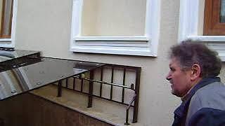видео Навесы над входом в подвал(подвалом)