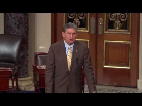Senator Manchin Addresses West Virginia Flood on the Senate Floor