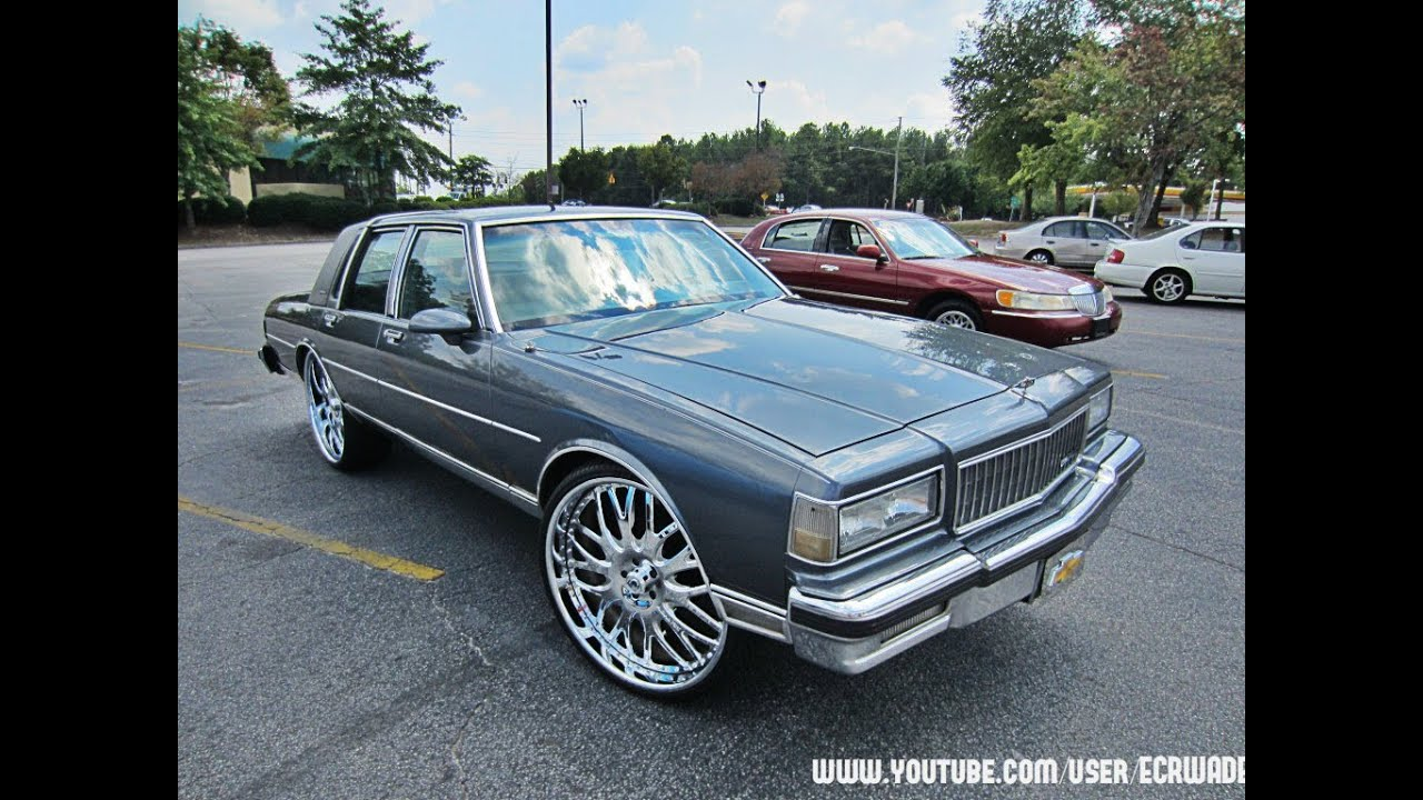 Chevrolet Caprice Ls Brougham On 26 Quot Asanti Wheels Youtube