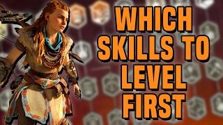 Horizon Zero Dawn - Which Skills to Level First
