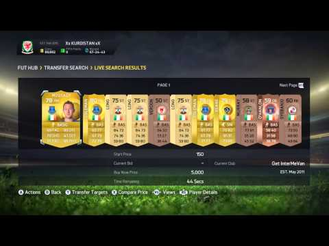 FIFA 15 - Trading with IRELAND Players