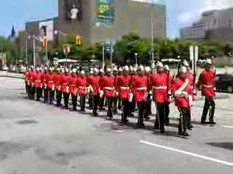 Royal Canadian Dragoons and the Royal Canadian Regiment