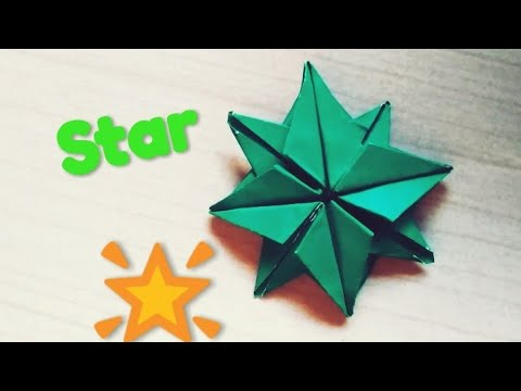 3d Paper Star | How to make Christmas Star | DIY Paper Crafts
