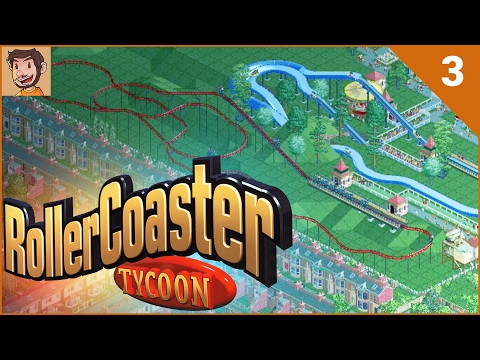 RollerCoaster Tycoon - Bumbly Beach (Part 3)