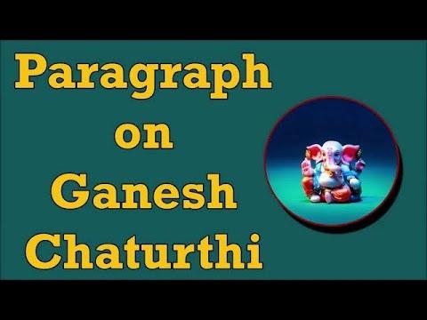 Видео Simple essay ganesh chaturthi