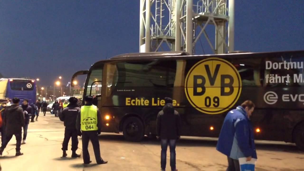 Ankunft der BVB-Stars am Stadion | Zenit St. Petersburg - Borussia Dortmund 2:4