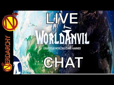 Tools for World Building in D&D, Other RPGs, and Authors- Nerdarchy Live Chat #156