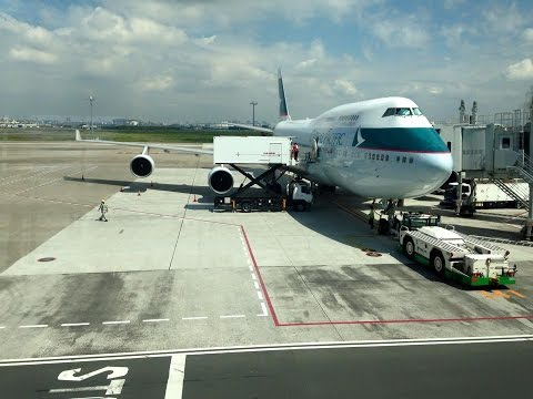 Cathay Pacific Airways CX543 Tokyo Haneda to Hong Kong *Full Flight*