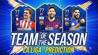 ARRIVA MESSI 100?! 😍 I TOTS di FIFA 19 della LIGA!! TEAM OF THE SEASON PREDICTIONS [FUT 19 ITA]