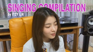 Download lagu Singing Compilation by ITZY Lia