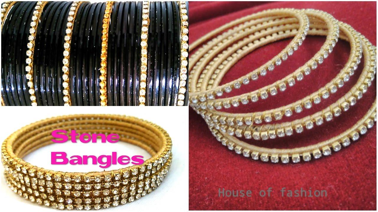 d8a848799ea Transform your Old Metal Bangles into Stone BANGLES  Ball Chain Bangles  Silk  Thread Bangles