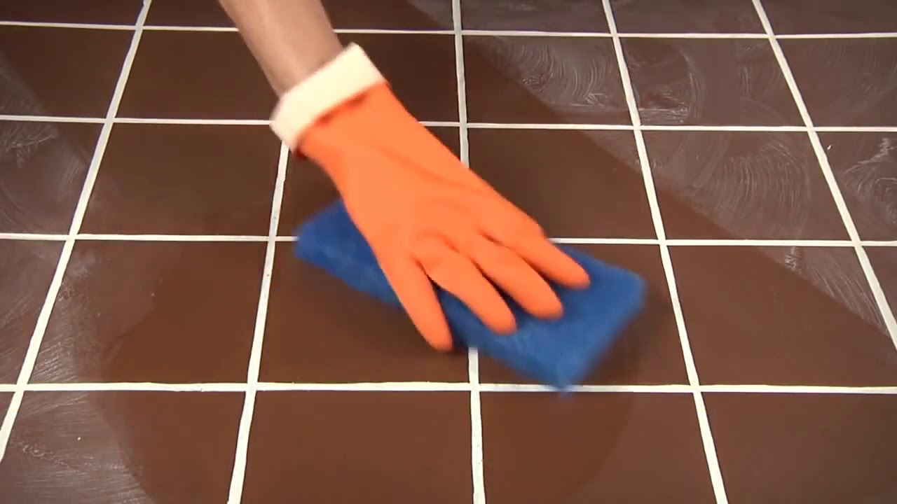 How to clean Epoxy base Grout Haze using Aqua Mix Sealer and Coating  Remover®