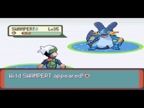 How To Catch Swampert In Pokemon Emerald