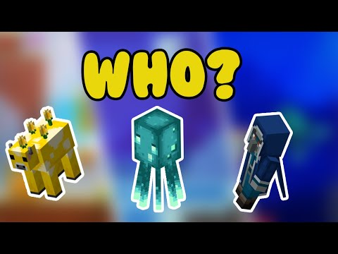 Who Should you Vote For (Minecon Mob Vote) Moobloom, Glow Squid, Iceologer