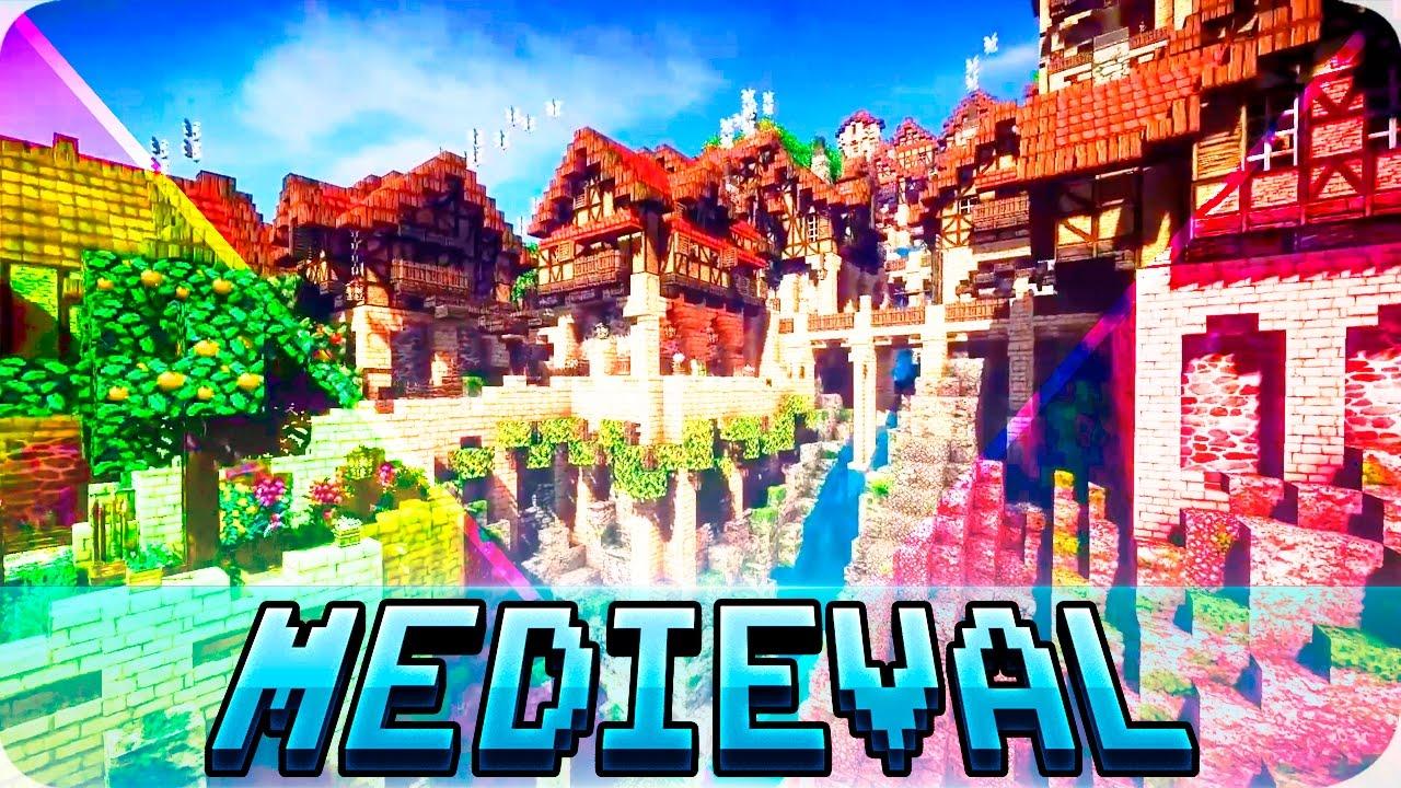 Minecraft - TOP 5 Best Medieval Maps in Minecraft ...