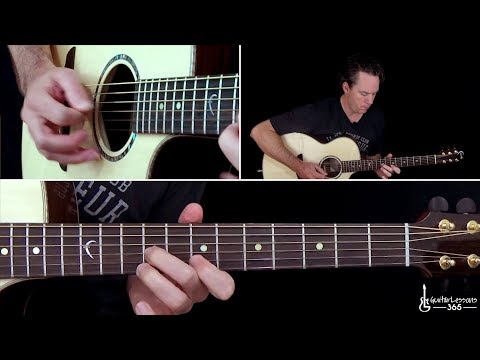 Def Leppard - Two Steps Behind Guitar Lesson