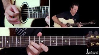 Two Steps Behind Guitar Lesson - Def Leppard