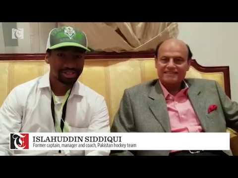Interview with former Pakistan hockey player Islahuddin Siddiqui
