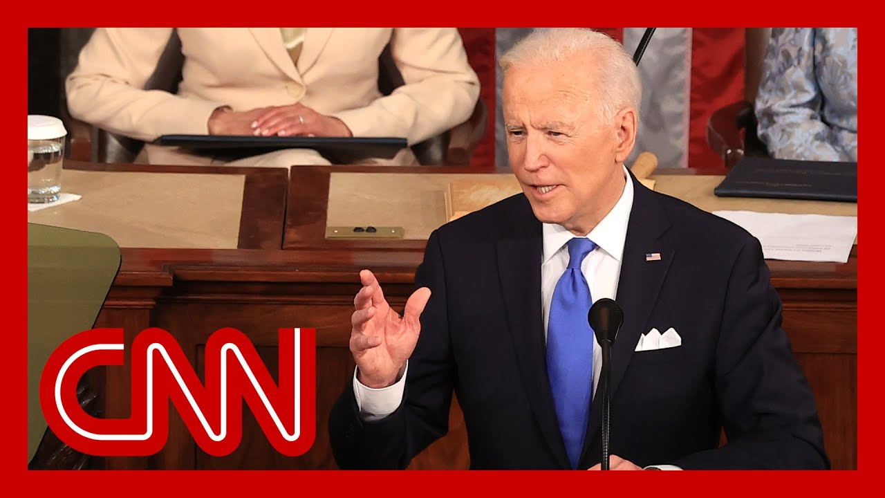 Watch Joe Biden's full speech to Congress