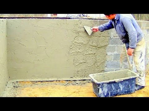 Building A House Step By Step Full Hd Day 11 Plastering