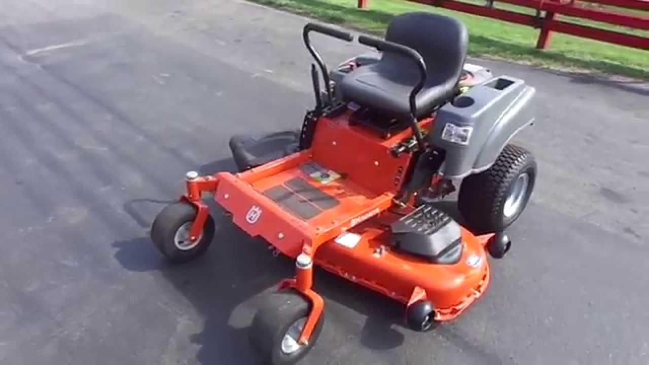 54 Quot Husqvarna Rz54i Zero Turn Lawn Mower With 26 Hp Briggs