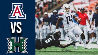 Arizona vs Hawaii Week 1 College Football 2019