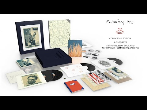 Paul McCartney - 'Flaming Pie' Collector's Edition (Unboxing Video)