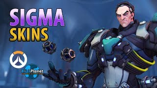 Sigma Skins Emotes Voice Lines And More