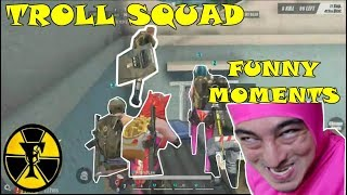 TROLL SQUAD   FUNNY MOMENTS   (Rules of Survival) [TAGALOG]