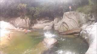 Cisneros (Antioquia) - Senderismo Tunel de la Quiebra - Charcos