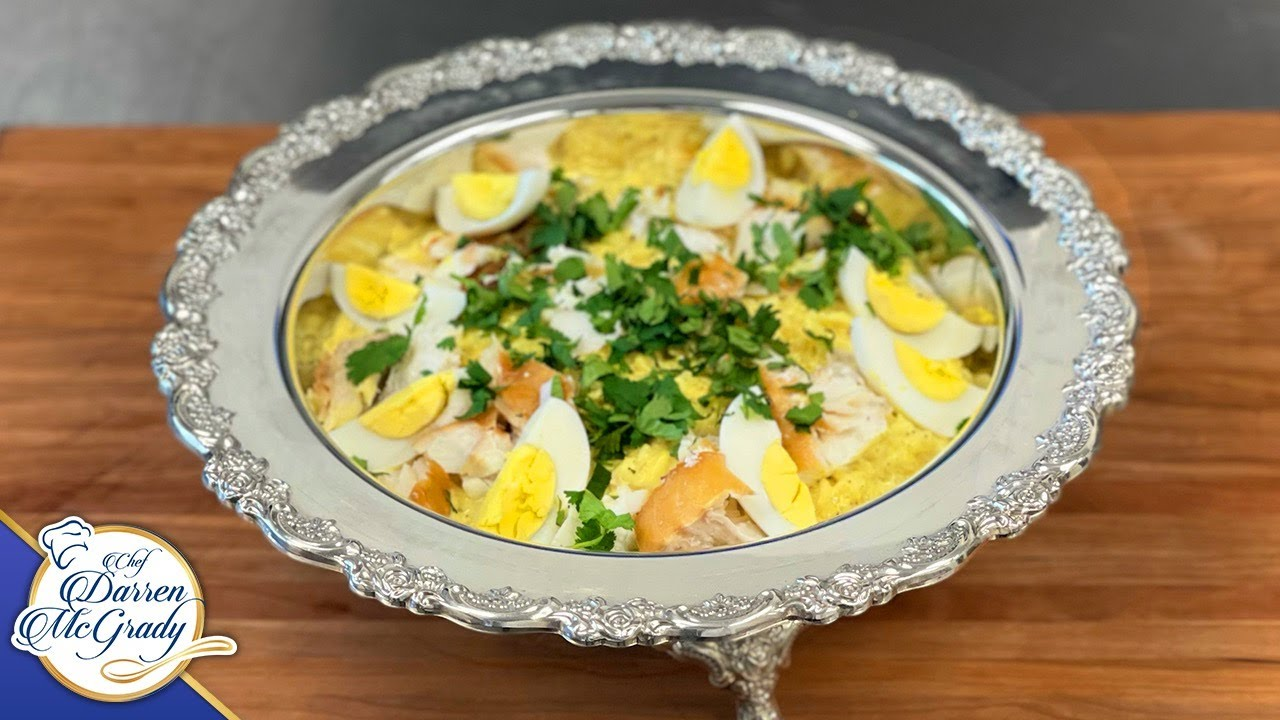 THE VICTORIAN BREAKFAST DISH I COOKED FOR THE QUEEN - SMOKED HADDOCK KEDGEREE