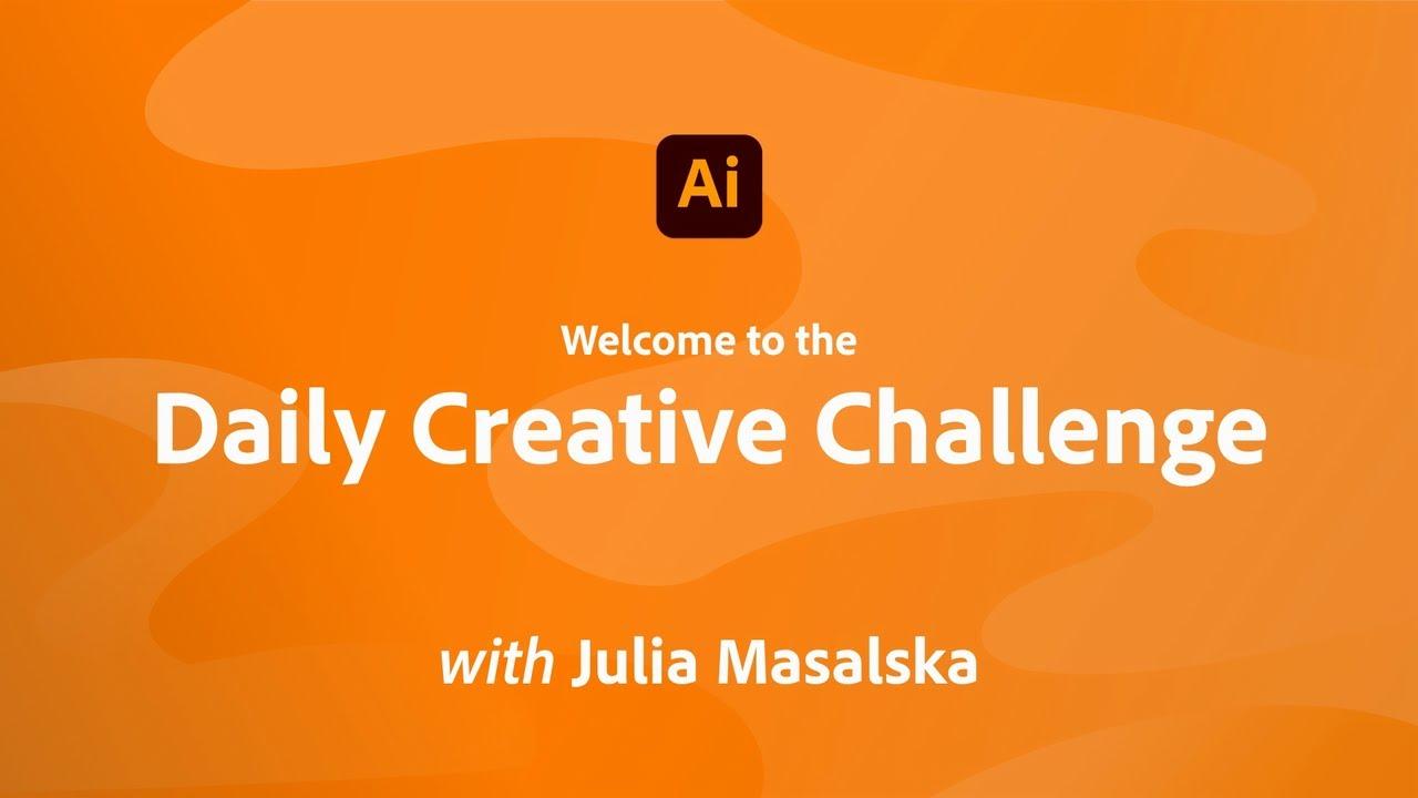 Creative Encore: Illustrator Daily Creative Challenge - Welcome
