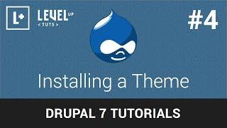 Drupal Tutorials #4 - Installing a Theme
