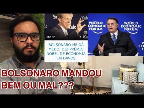 Bolsonaro em Davos. Globalismo vs Globalização. E o Nobel de Economia!