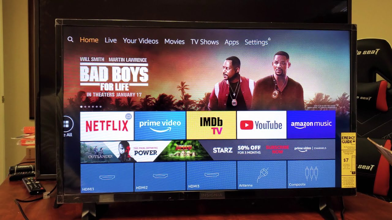 Amazon Fire Tv How To Sign Out Log Out Youtube