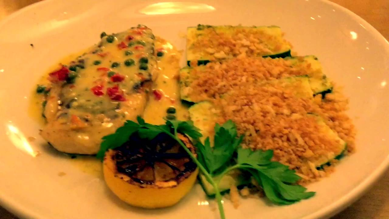 Olive Garden At Rockwall Texas Chicken Piccata Youtube