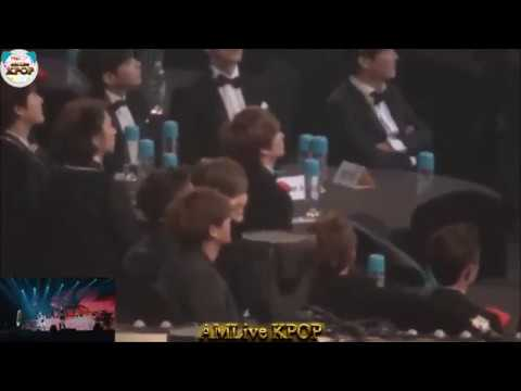 EXO during Sistar I Swear + Touch My Body 4th Gaon K Pop Chart Awards 2015 01 28