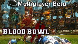 Blood Bowl 2 - Multiplayer Beta [First Match + Gameplay]