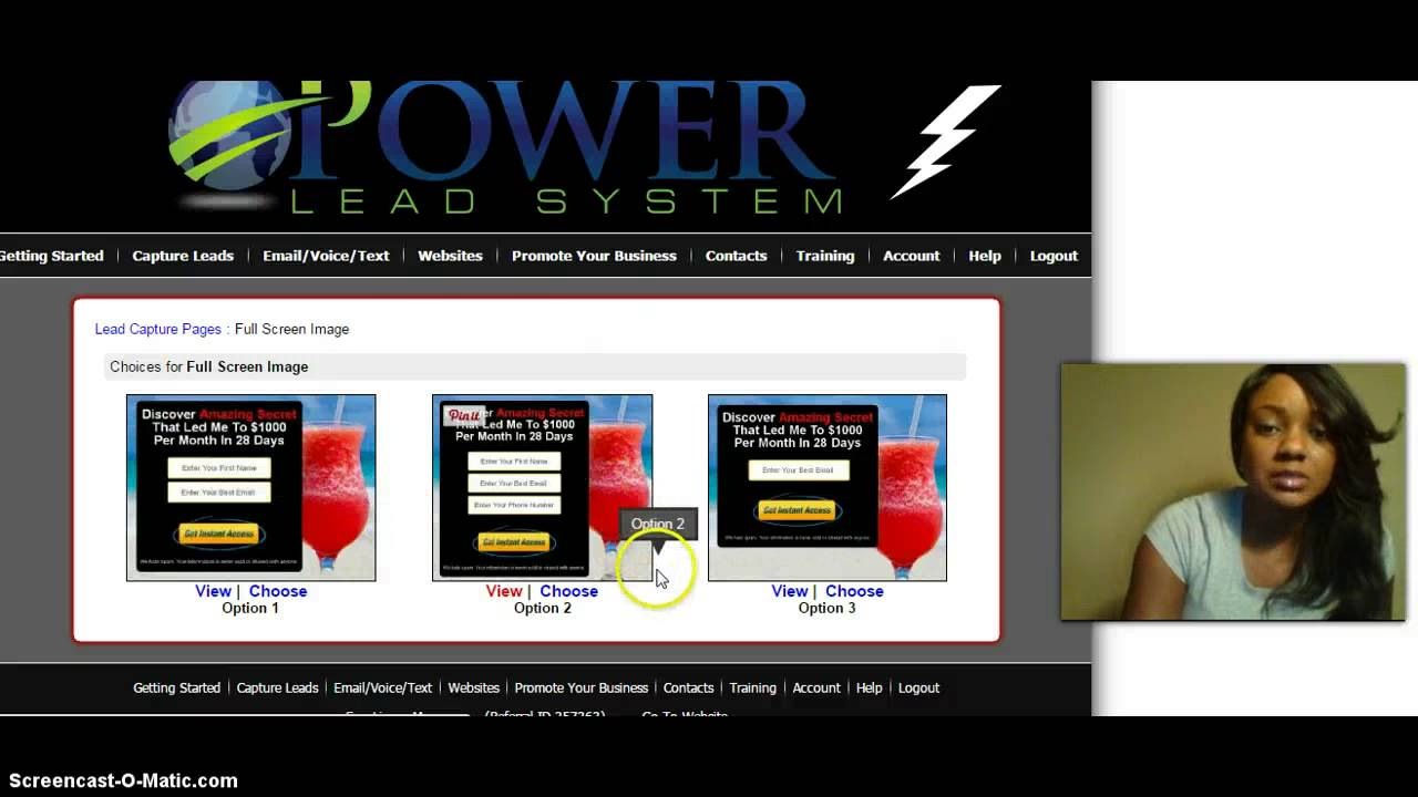 Power Lead System- Create A Funnel In Minutes With Power Lead System