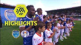 Estac troyes - toulouse fc (0-0) - highlights - (estac - tfc) / 2017-18