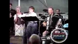 """MARV & THERESA HERZOG WITH SISTERS at FRANKENMUTH""""OH BABY MINE MEDLEY"""""""