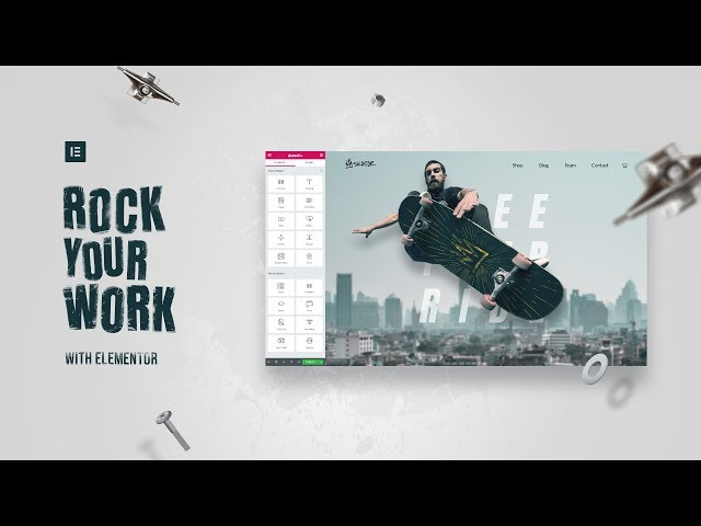 ROCK YOUR WORK With Elementor