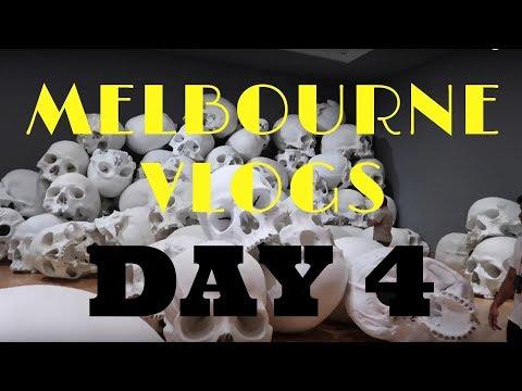 VLOG #18 // MELBOURNE DAY 4 - MELBOURNE ART GALLERY