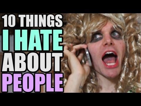 10 THINGS I HATE ABOUT PEOPLE | ONISION