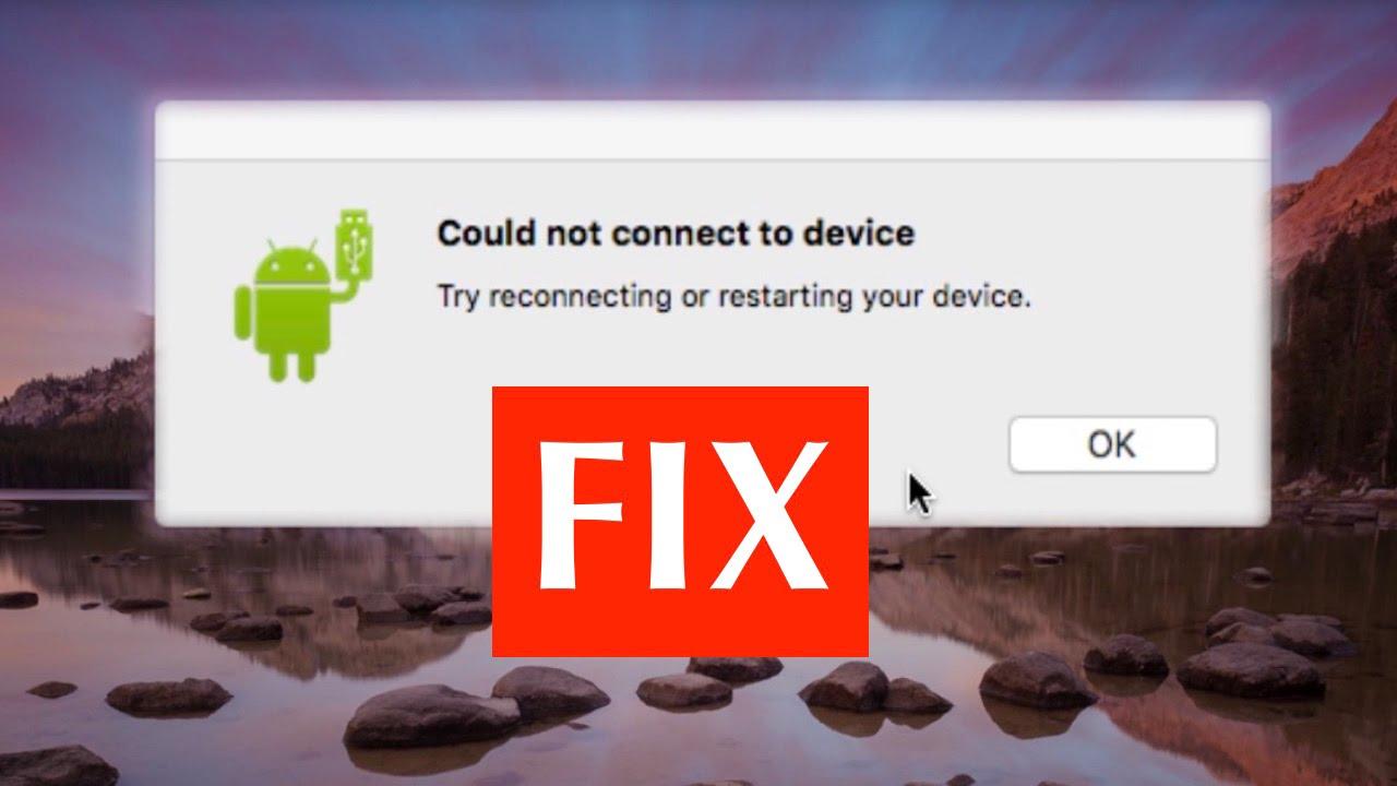 android file transfer mac el capitan not working