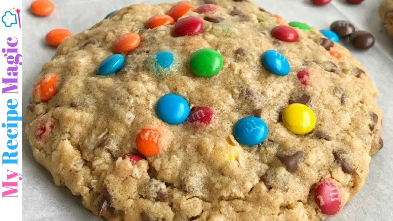 Giant Reese S Stuffed Monster Cookies Youtube